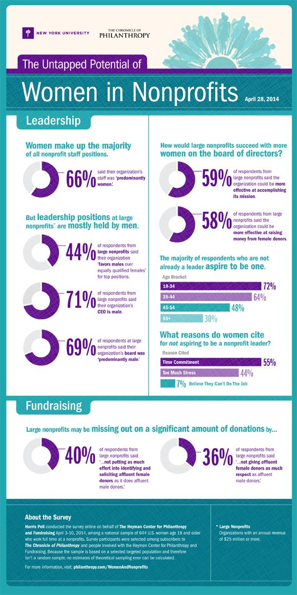 Women in Nonprofits Infographic